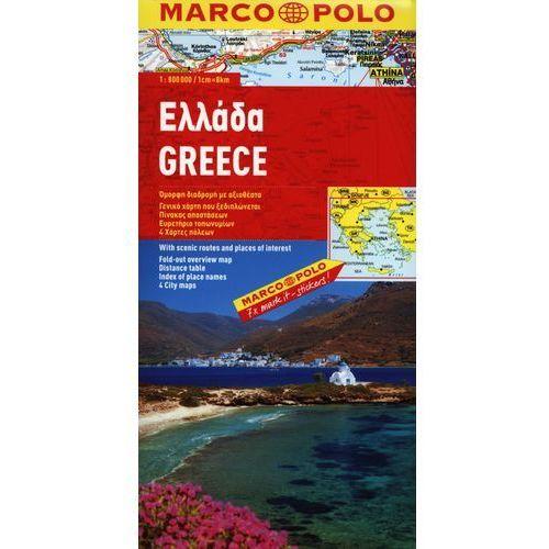 Grecja. Mapa Marco Polo W Skali 1:800 000 (2 str.)