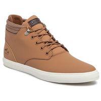 Lacoste Sneakersy - esparre winter c319 1 cma lt 7-38cma00301x6 brw/brw