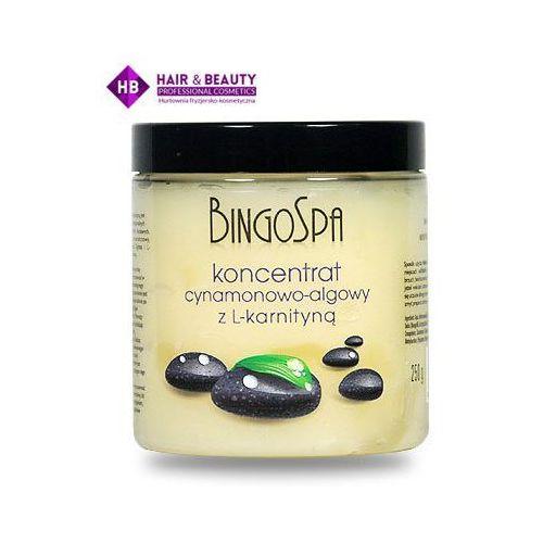 BINGOSPA Koncentrat cynamonowo - algowy z L- karnityną 250 g