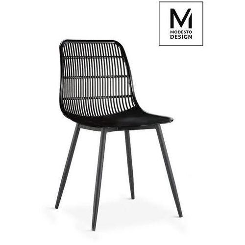 MODESTO krzesło BASKET czarne - polipropylen (5900000050218)