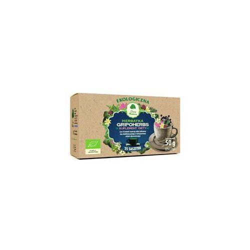 Dary natury - herbatki bio Herbatka gripoherbs bio (25 x 2 g) - dary natury (5902581618061)