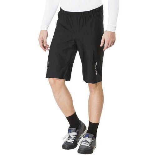 Löffler GTX Active Spodnie rowerowe Mężczyźni czarny 48 2018 Spodenki rowerowe