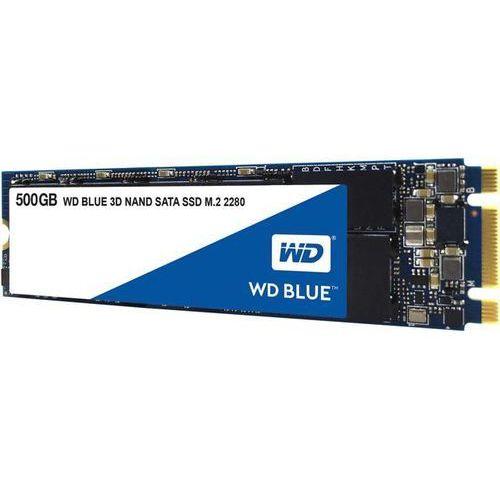 Dysk SSD 500 GB WD Blue WDS500G2B0B M.2 SATA III- natychmiastowa wysyłka, ponad 4000 punktów odbioru!