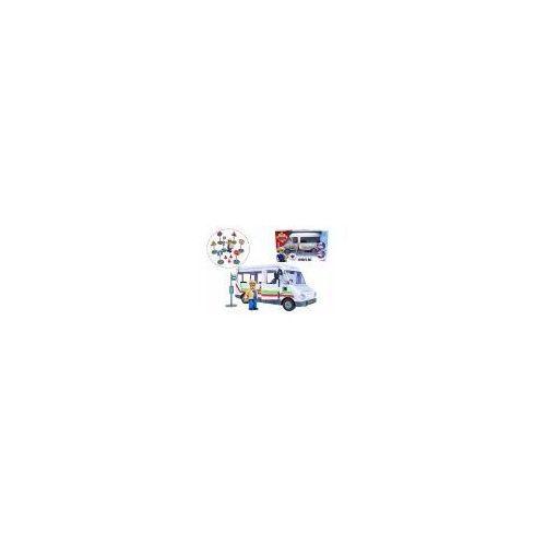 Pojazd autobus Trevora z figurką Strażak Sam (109251073038). od 3 lat