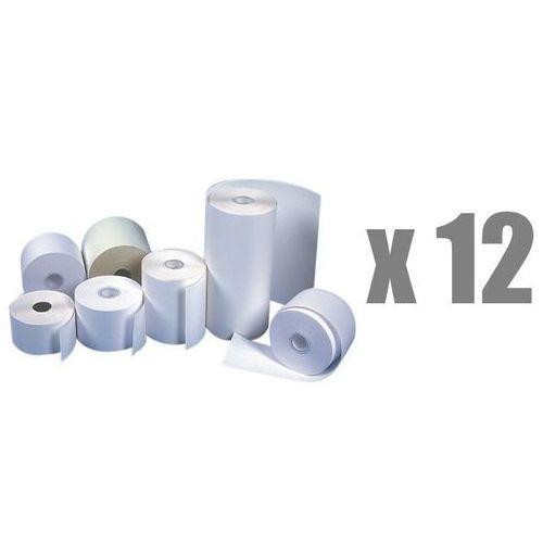 Rolki papierowe do kas termiczne , 49 mm x 25 m, opakowanie 12 x zgrzewka 10 rolek - autoryzowana dystrybucja - szybka dostawa marki Emerson