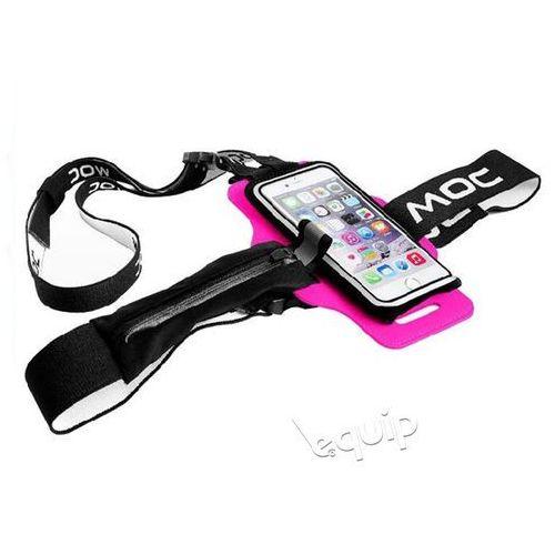 """Moc Zestaw szelki na telefon chest plate + etui slip-in bag 4,7"""" - różowy"""