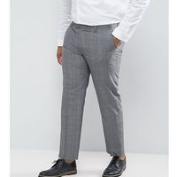 Harry brown plus check suit trousers - grey
