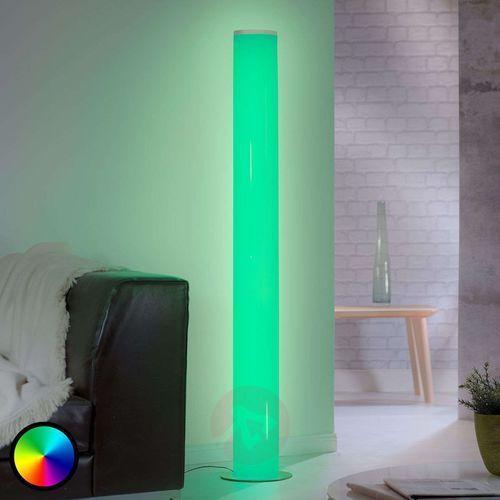 Trio leuchten pantilon lampa stojąca led biały, 1-punktowy, zdalne sterowanie, zmieniacz kolorów - nowoczesny - obszar wewnętrzny - pantilon - czas dostawy: od 3-6 dni roboczych (4017807407464)