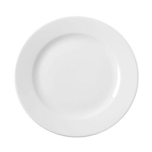 Fine dine Talerz płytki porcelanowy bianco