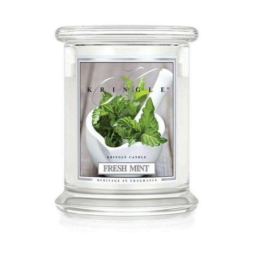 Fresh mint świeca zapachowa mały słoik 8,5oz 240g marki Kringle candle