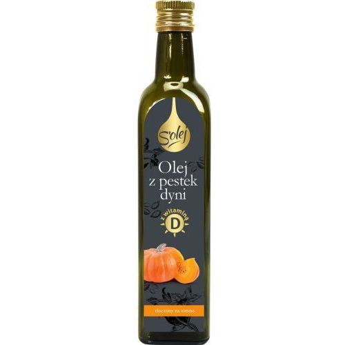 Olej z pestek dyni z wit. d s'olej 250ml - marki Oleofarm