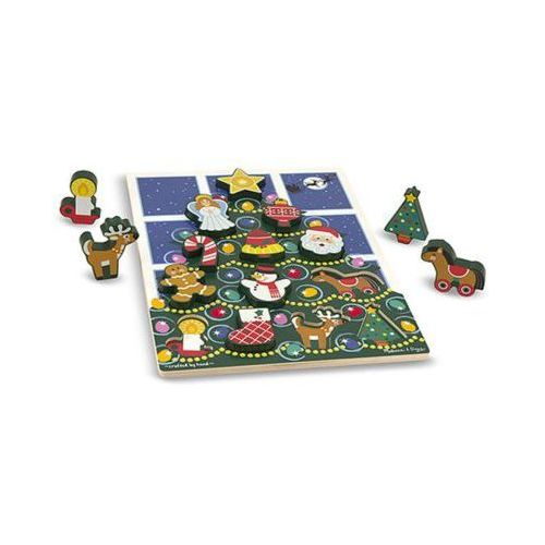 Puzzle drewniane MELISSA & DOUG Choinka 13718