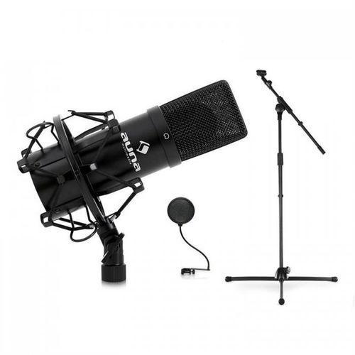 DJ PAestradowy-& mikrofon studyjny, statyw i uchwyt do mikrofonu