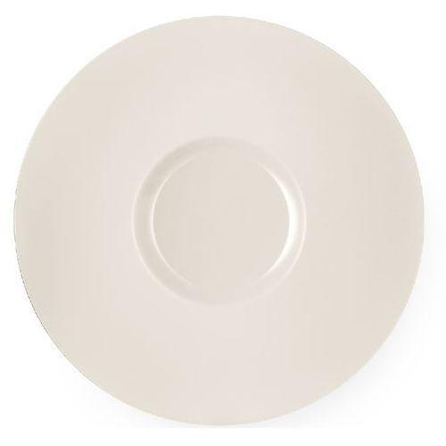 Fine dine Talerz prezentacyjny porcelanowy crema