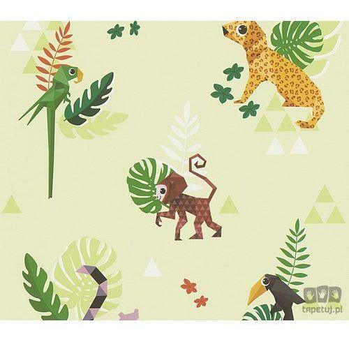Tapeta ścienna w zwierzątka Esprit Kids 4 3030-33 AS Creation, 30303-3