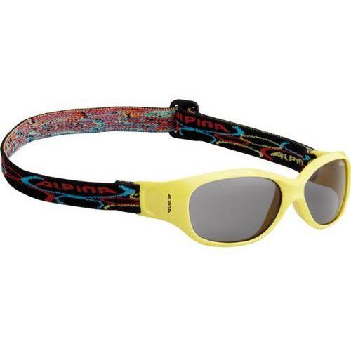Okulary Słoneczne Alpina Sports Flexxy Kids A8495441, kolor żółty