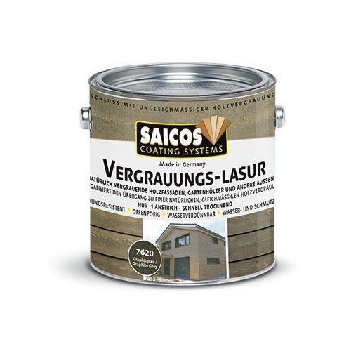 Saicos  lazura poszarzająca 7620, 7630 op. 10 l