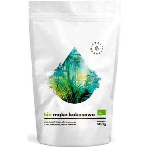 Aura herbals Bio mąka kokosowa (500 g)