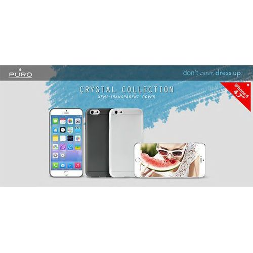 crystal cover - etui iphone 6 4.7 (czarny) odbiór osobisty w ponad 40 miastach lub kurier 24h wyprodukowany przez Puro