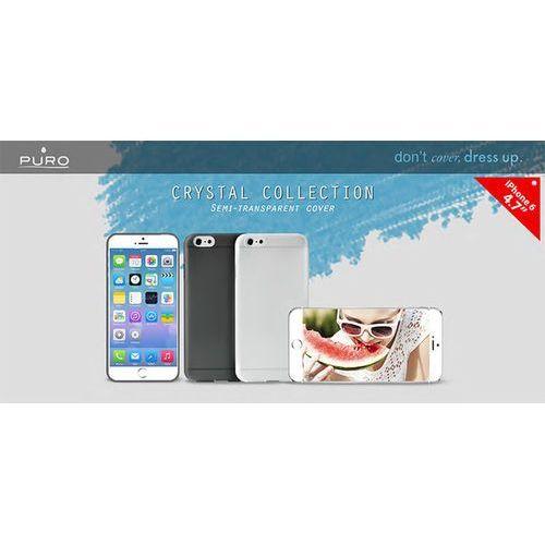 PURO Crystal Cover - Etui iPhone 6 4.7 (czarny) Odbiór osobisty w ponad 40 miastach lub kurier 24h (8033830112089)