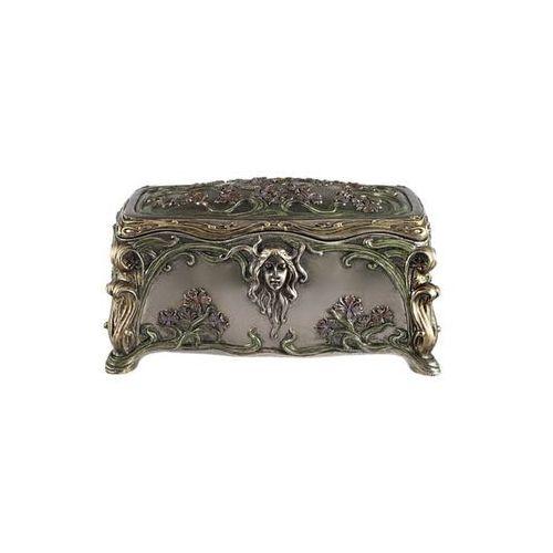 Veronese Secesyjna szkatułka z kobietą (an10204a4)