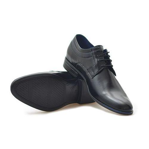 Pantofle Conhpol C00C-5494-Z963 Czarne + niebieskie
