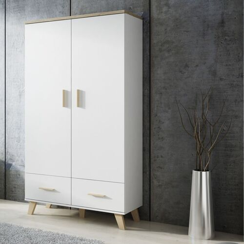 High glossy furniture Livorno szafa 2+2 w stylu skandynawskim