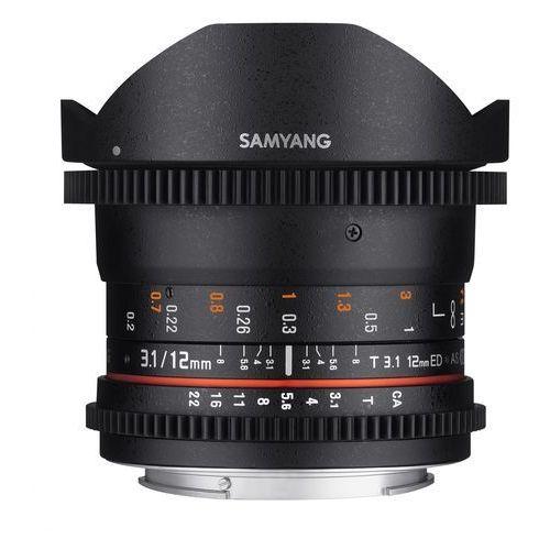 Samyang 12mm t3.1 vdslr ed as ncs fisheye micro 4/3 - produkt w magazynie - szybka wysyłka! (8809298883782)