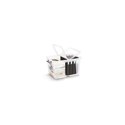 Pojemnik biurowy CEP Smartbox, 65l, transparentny, CHW686-90