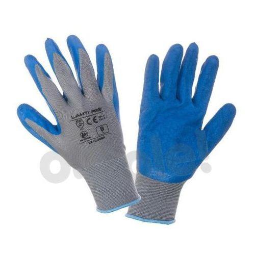 LAHTI PRO Rękawice ochronne powlekane rozmiar 10, opakowanie 12 par, /L210410W/ (5903755047694)