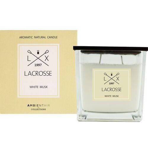 Świeca zapachowa white musk 10x10 lacrosse - white musk (8435474407604)