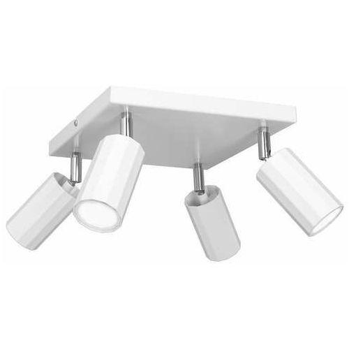 Luminex Bello 1768 plafon lampa sufitowa spot 4x8W GU10 biały (5907565917680)