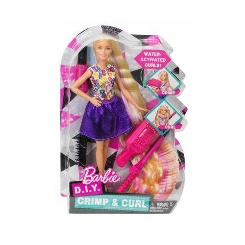 Mattel Lalka barbie zrób to sama fale i loki dwk49