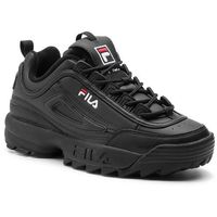Sneakersy FILA - Disruptor Low 1010262.12V Black/Black