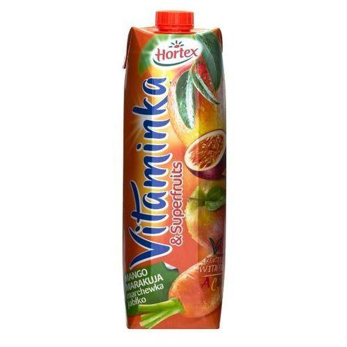 1l vitaminka & superfruits mango marakuja marchewka jabłko sok | darmowa dostawa od 150 zł! od producenta Hortex