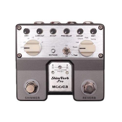 Mooer ShimVerb Pro, Digital Reverb Pedal, Efekt gitarowy