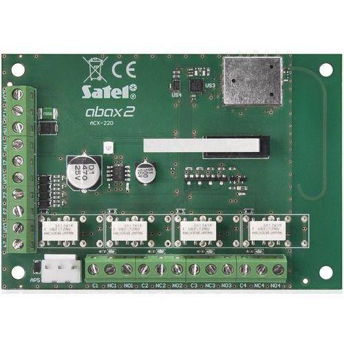 Abax 2 bezprzewodowy ekspander wejść i wyjść przewodowych acx-220 marki Satel