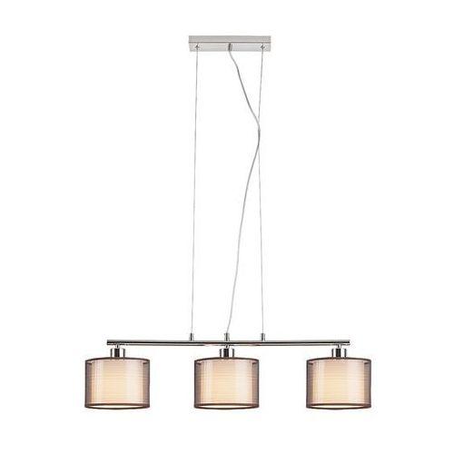 Lampa wisząca zwis oprawa Rabalux Anastasia 3X60W E27 brązowa 2630, 2630