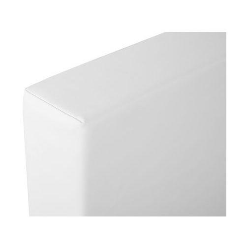 OKAZJA - Beliani Łóżko ciemnobrązowe 180 x 200 cm zen (7081452908314)