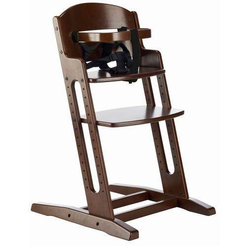 Krzesełko do karmienia  danchair brązowe marki Baby dan
