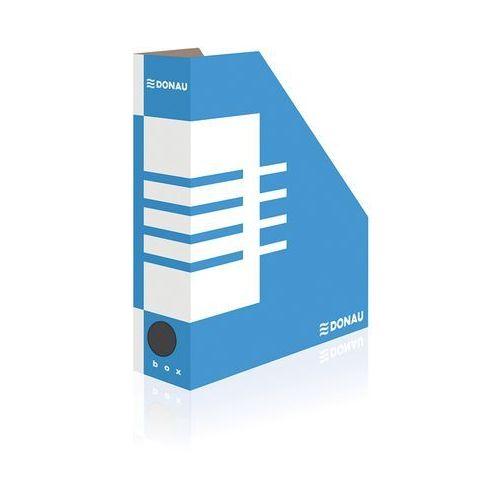Donau Pojemnik na dokumenty (czasopisma) a4 niebiesko-biały (7649001pl-10) sciete (5901498110118)