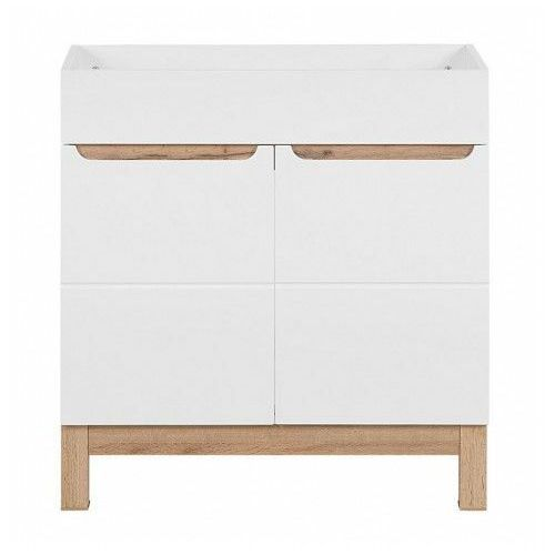 Szafka pod umywalkę Marsylia 3X 80 cm - Biały połysk, BALI-BIAŁY-821-80-CM
