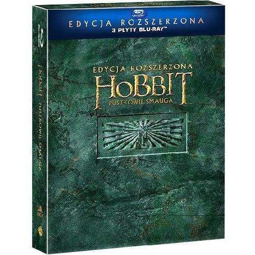 Hobbit: pustkowie smauga. edycja specjalna (3bd) marki Galapagos