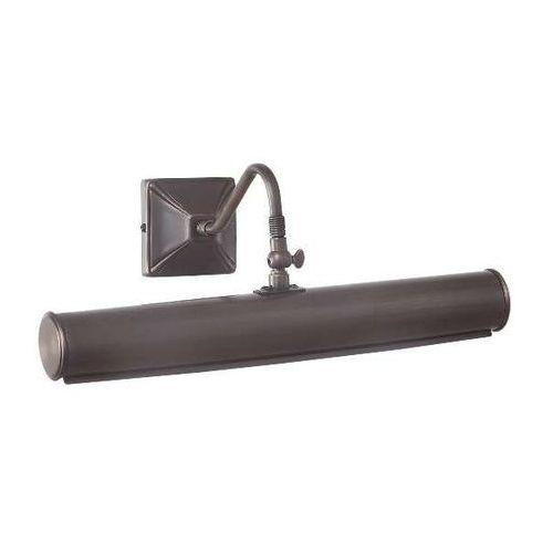 Elstead Kinkiet lampa ścienna picture lights pl1/20 ab metalowa oprawa obrazowa minimalistyczna antyczny mosiądz (5024005375906)