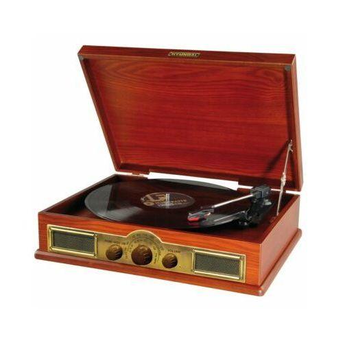 Gramofon HYUNDAI RT 910 Retro Brązowy
