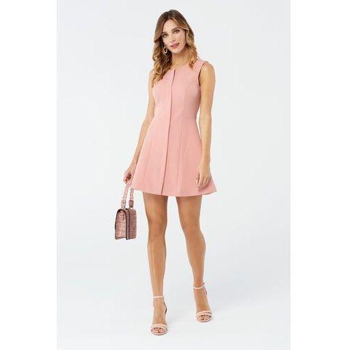OKAZJA - Sukienka sage w kolorze różowym, Sugarfree, 32-40