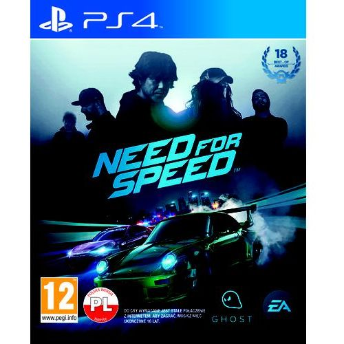 Gra Need for Speed z kategorii: gry PS4