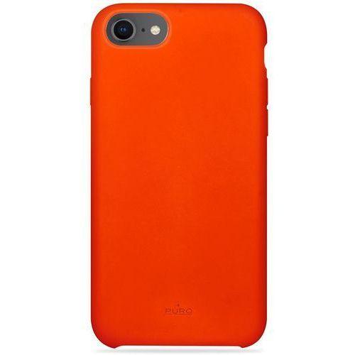 Etui PURO Icon Cover Apple iPhone 8/7/6s/6 pomarańczowy, kolor pomarańczowy