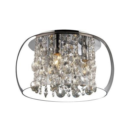 Rabalux Plafon lampa oprawa sufitowa brillant 3x40w e14 chrom 2827 (5998250328270)