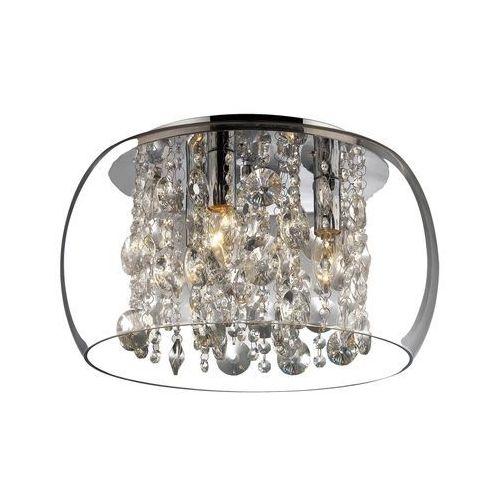 Rabalux Plafon lampa oprawa sufitowa brillant 3x40w e14 chrom 2827
